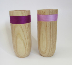 hand made wood turned vessels