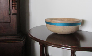 hand made wood turned bowl