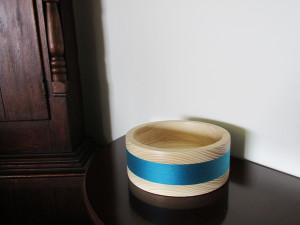handmade wood turned bowl