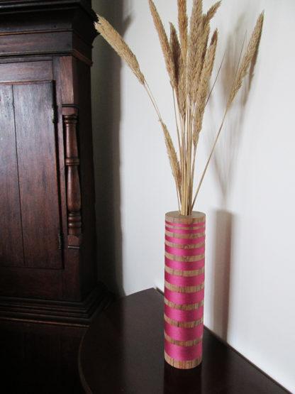 hand made wood turned vessel